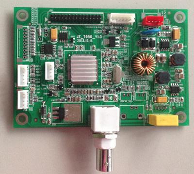 液晶驱动板及线材